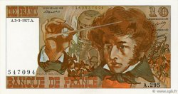 10 Francs BERLIOZ FRANCE  1977 F.63.21