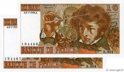 10 Francs BERLIOZ FRANCE  1978 F.63.24 NEUF