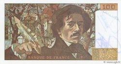 100 Francs DELACROIX modifié FRANCE  1979 F.69.03 SPL
