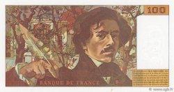 100 Francs DELACROIX 442-1 & 442-2 FRANCE  1994 F.69ter.01b pr.NEUF