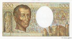 200 Francs MONTESQUIEU FRANCE  1988 F.70.08 pr.NEUF