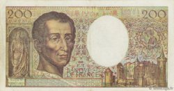 200 Francs MONTESQUIEU FRANCE  1990 F.70.10b TTB
