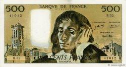 500 Francs PASCAL FRANCE  1973 F.71.09 pr.SUP