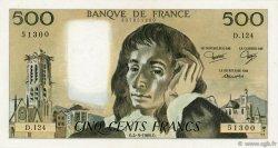 500 Francs PASCAL FRANCE  1980 F.71.22 SUP