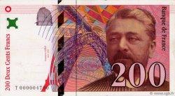 200 Francs EIFFEL FRANCE  1995 F.75.01 pr.SUP