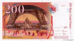 200 Francs EIFFEL FRANCE  1997 F.75.04b NEUF
