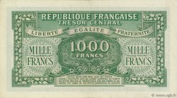 1000 Francs MARIANNE chiffres maigres FRANCE  1945 VF.13.02 SUP