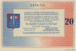 20 Francs FRANCE régionalisme et divers  1941  SPL