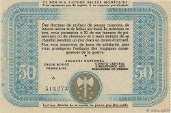 50 Francs FRANCE régionalisme et divers  1941  SPL