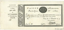 400 Sols FRANCE  1801 Laf.- PS.226 SUP