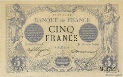 5 Francs NOIR FRANCE  1873 F.01.19 TTB+
