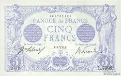 5 Francs BLEU FRANCE  1915 F.02.25 SUP+
