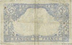 5 Francs BLEU lion inversé FRANCE  1916 F.02bis.04 pr.TB