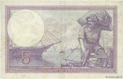 5 Francs VIOLET FRANCE  1917 F.03.01 pr.SUP