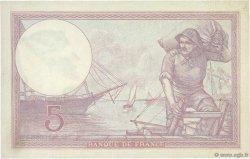 5 Francs VIOLET FRANCE  1927 F.03.11 SPL