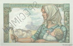 10 Francs MINEUR FRANCE  1941 F.08.00 SPL