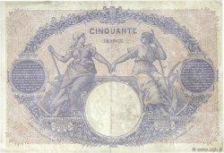 50 Francs BLEU ET ROSE FRANCE  1901 F.14.13 pr.TB