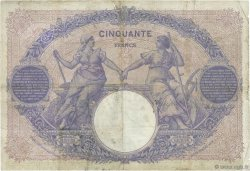 50 Francs BLEU ET ROSE FRANCE  1903 F.14.15 B+