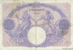 50 Francs BLEU ET ROSE FRANCE  1905 F.14.17 B+