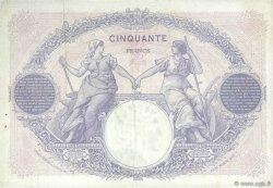 50 Francs BLEU ET ROSE FRANCE  1923 F.14.36 TTB