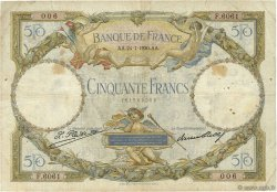 50 Francs LUC OLIVIER MERSON FRANCE  1930 F.15.04 F