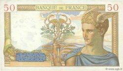 50 Francs CÉRÈS FRANCE  1934 F.17.02 TTB+