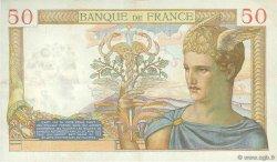 50 Francs CÉRÈS FRANCE  1937 F.17.37 TTB+