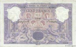 100 Francs ROSE ET BLEU FRANCE  1899 F.21.12 B+