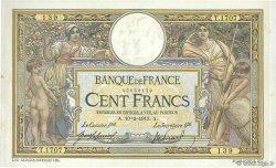 100 Francs LUC OLIVIER MERSON sans LOM FRANCE  1913 F.23.05