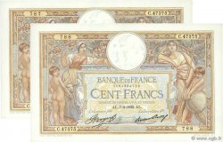 100 Francs LUC OLIVIER MERSON grands cartouches FRANCE  1935 F.24.14 SUP à SPL
