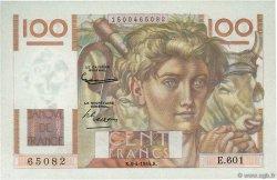 100 Francs JEUNE PAYSAN FRANCE  1954 F.28.43 NEUF