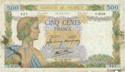 500 Francs LA PAIX FRANCE  1944 F.32.47 B+