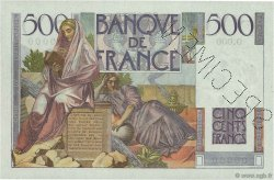 500 Francs CHATEAUBRIAND FRANCE  1945 F.34.00 SPL
