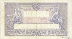 1000 Francs BLEU ET ROSE FRANCE  1918 F.36.32 TTB
