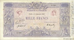 1000 Francs BLEU ET ROSE FRANCE  1920 F.36.36 TB+
