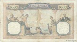 1000 Francs CÉRÈS ET MERCURE FRANCE  1929 F.37.03 TB+