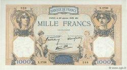 1000 Francs CÉRÈS ET MERCURE type modifié FRANCE  1939 F.38.33 SUP