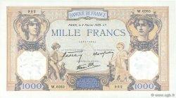 1000 Francs CÉRÈS ET MERCURE type modifié FRANCE  1939 F.38.34 SUP à SPL