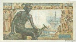 1000 Francs DÉESSE DÉMÉTER FRANCE  1943 F.40.24 SUP