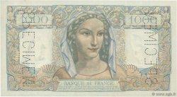 1000 Francs MINERVE ET HERCULE FRANCE  1945 F.41.00 SPL
