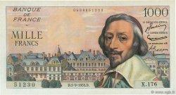 1000 Francs RICHELIEU FRANCE  1955 F.42.15 NEUF