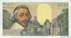1000 Francs RICHELIEU FRANCE  1957 F.42.26 TTB+