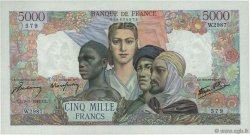 5000 Francs EMPIRE FRANÇAIS FRANCE  1947 F.47.58 SPL