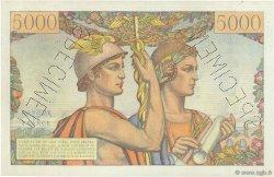 5000 Francs TERRE ET MER FRANCE  1949 F.48.00 SUP+