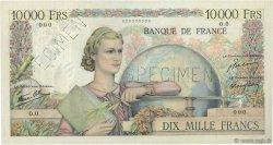 10000 Francs GÉNIE FRANÇAIS FRANCE  1945 F.50.00s1a SUP+