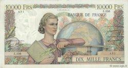 10000 Francs GÉNIE FRANÇAIS FRANCE  1946 F.50.10 TTB