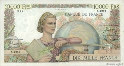 10000 Francs GÉNIE FRANÇAIS FRANCE  1951 F.50.54 TB+