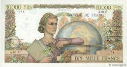 10000 Francs GÉNIE FRANÇAIS FRANCE  1955 F.50.77 TTB+