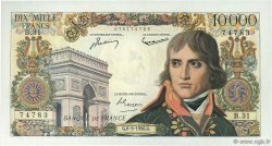 10000 Francs BONAPARTE FRANCE  1956 F.51.04 TTB+