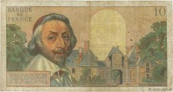 10 Nouveaux Francs RICHELIEU FRANCE  1963 F.57.22 B+